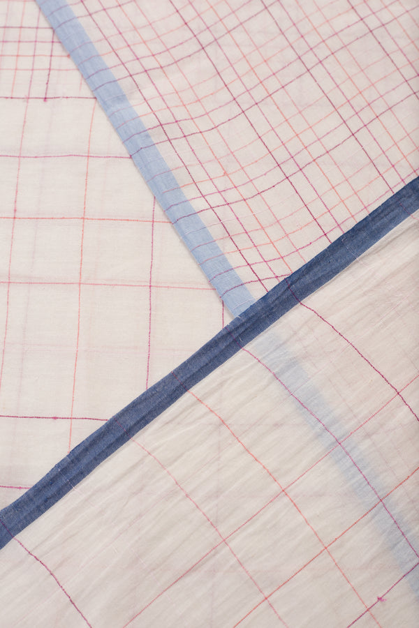 Half Half Checkered Fabric (per meter)