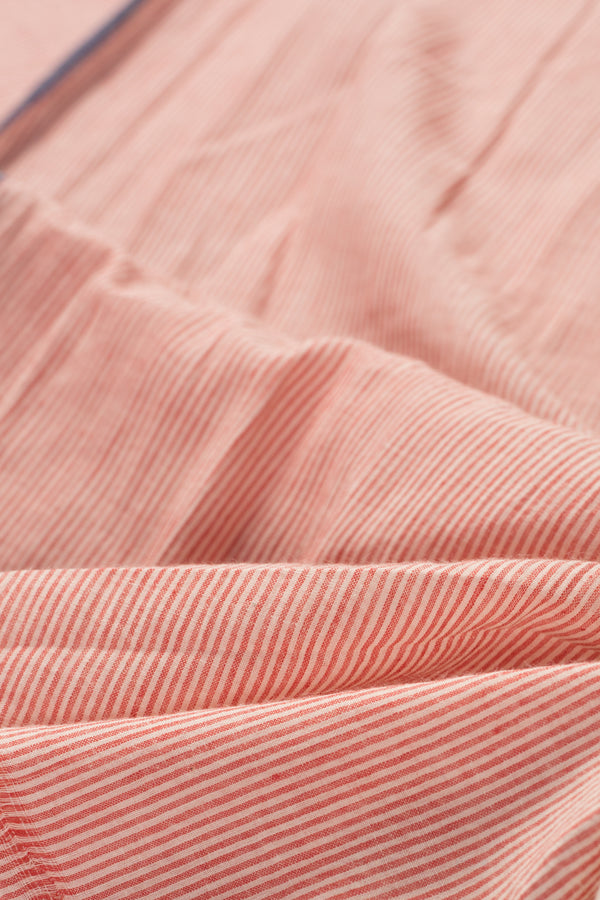 Half Half Striped Plain Fabric (per meter)