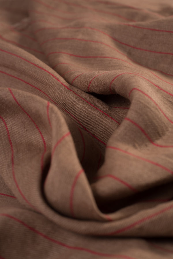 Striped Linen Fabric (per meter)
