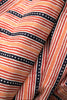Orange Stripes and Dots Fabric(per meter)