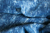 Random Brush Indigo Fabric(per meter)