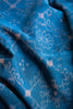 Blue Ikat Fabric (per meter)