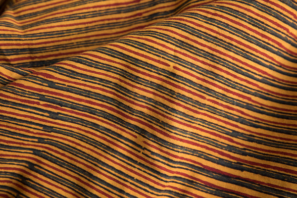 Yellow Line Fabric (per meter)