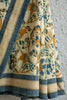Blue Birdie on Kora Saree