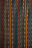 Black Green Maroon Ikat Fabric (per meter)