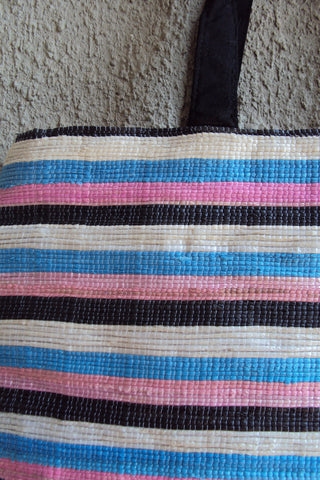 3R Pink and Blue Handbag