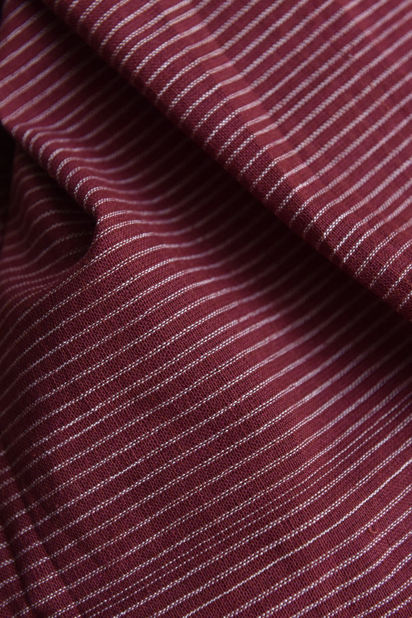 Dark Pink Stripe Fabric (per meter)