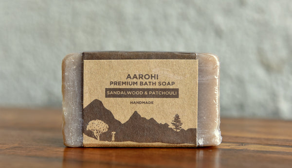 Sandalwood and Patchouli Premium Soap