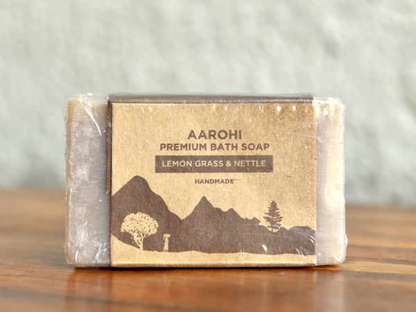 Lemongrass & Nettle Premium Soap