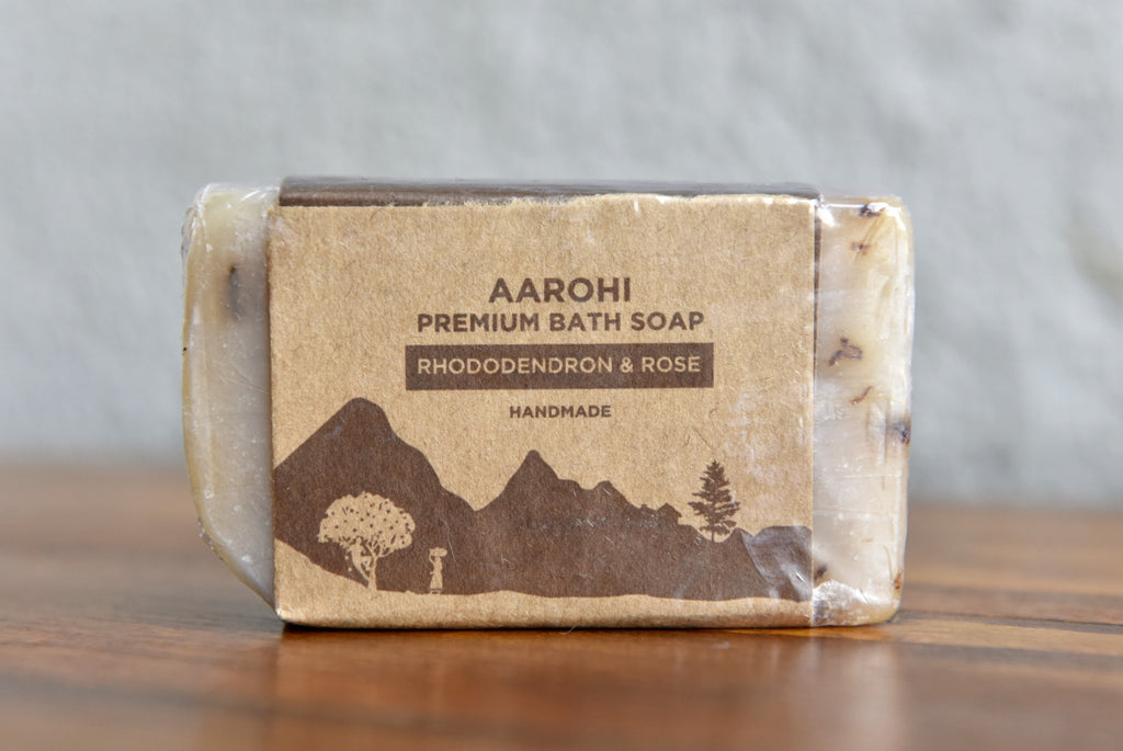 Rhododendron and Rose Premium Soap
