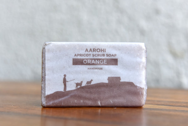 Apricot Scrub Soap - Orange Flavour