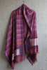 Purple Checkered Irkal Dupatta