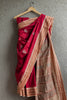 Pink Bombai Saree with Doll Motifs