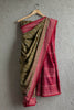 Olive Tie and Dye Saree