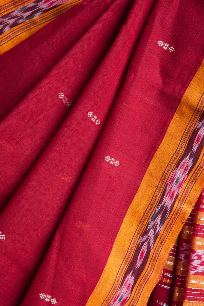 Red Behrampuri Saree