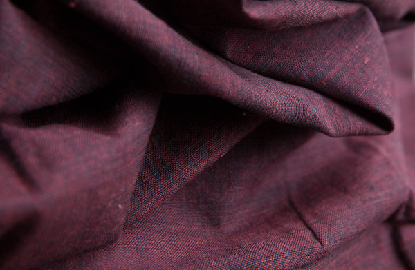 Maroon Black Fabric (per meter)