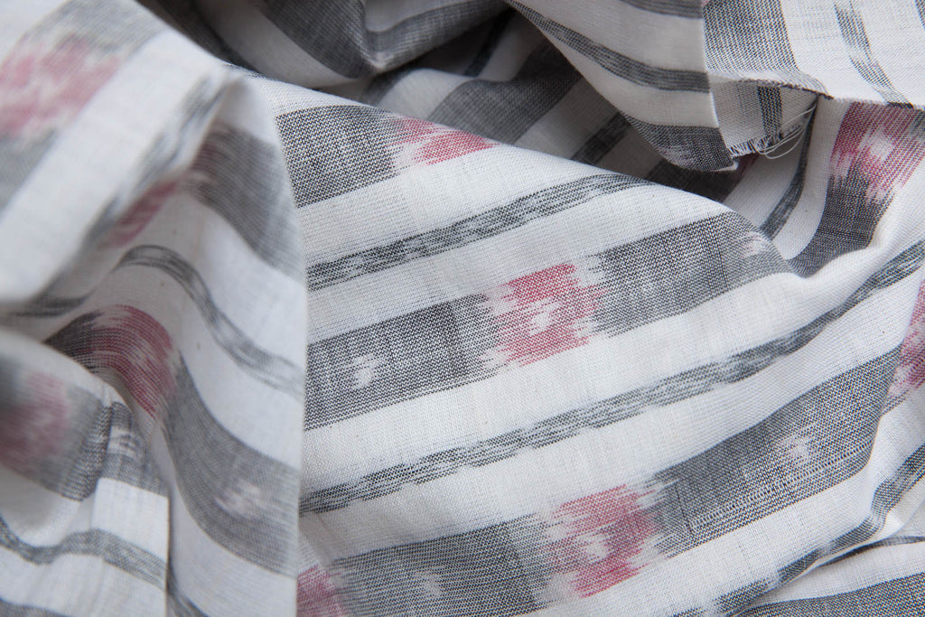 Grey Tie & Dye Fabric (per meter)