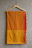 Yellow Orange Manalgiri Saree