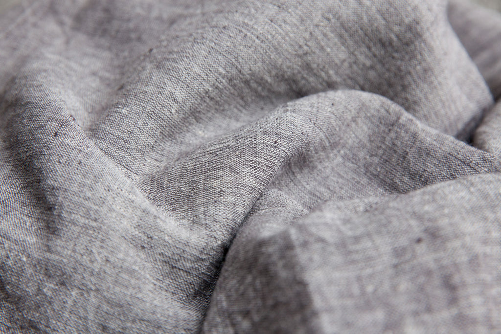 Grey Color Kala Cotton Fabric (per meter)