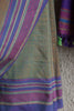 Greenish Brown Ilkal Saree