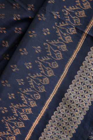 Persian Blue Shankh Border Saree