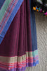 Paatli Pallu Blue-Red Saree
