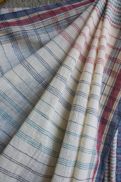 Colorful Lines Kutchhi Saree