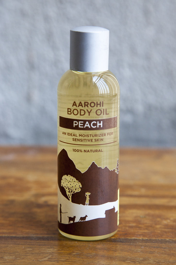 Peach Body Oil