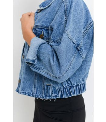 Medium Washed Denim Jacket
