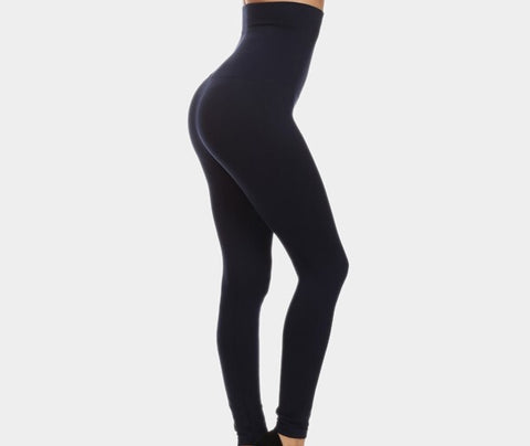 """Snatched"" compression leggings (Navy)"