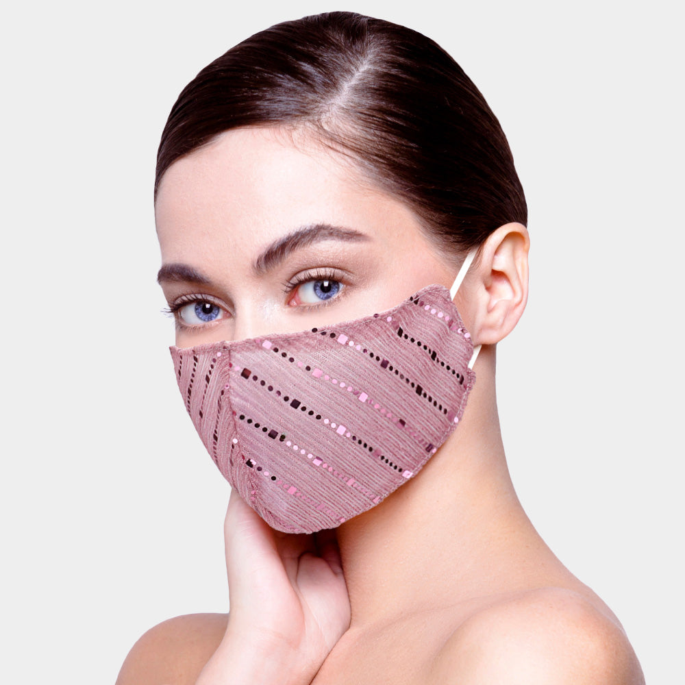 Pretty in Pink Mask