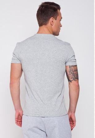 Tilted Ukie Embroidered fitted T-shirt - Ukie Boutique