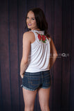 Embroidered Tank Top - Ukie Boutique