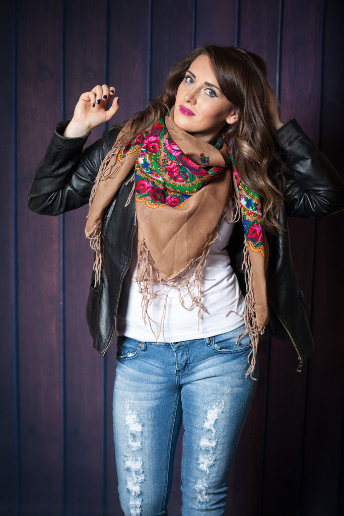 Traditional Ukrainian Hustka Scarf - Ukie Boutique