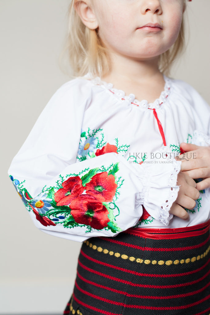 Girl's Vyshyvanka - Ukie Boutique