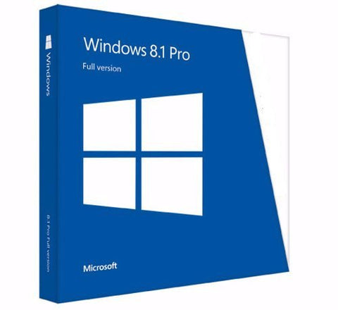 Microsoft Windows 8.1 Pro Full Retail Version