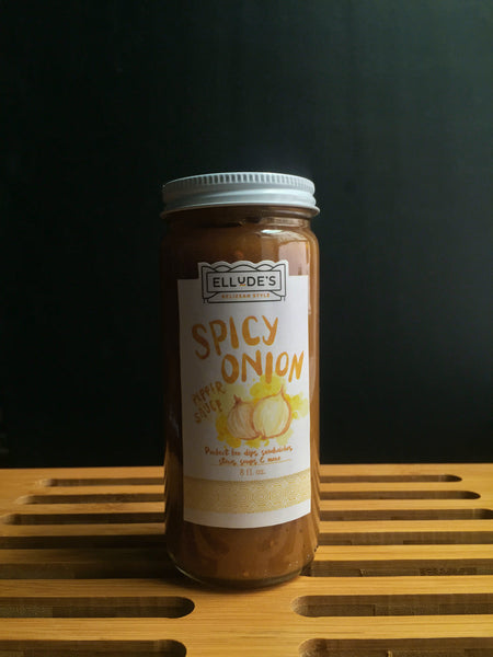 Spicy Onion Pepper Sauce