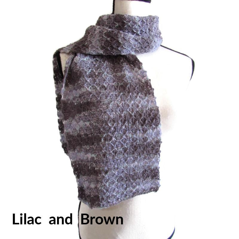 Light Lacy Alpaca Scarf, 3 Different Colors, Wool Alpaca Scarf, Dress Scarf