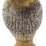 Alpaca and Merino Wool Knit Winter Hat