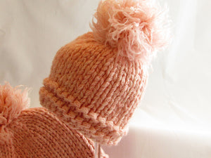 Cotton Candy I-cord Hat Kit