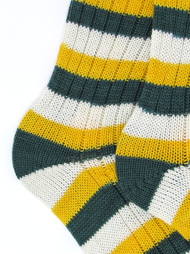 Wool HandCranked Socks, Team Colors