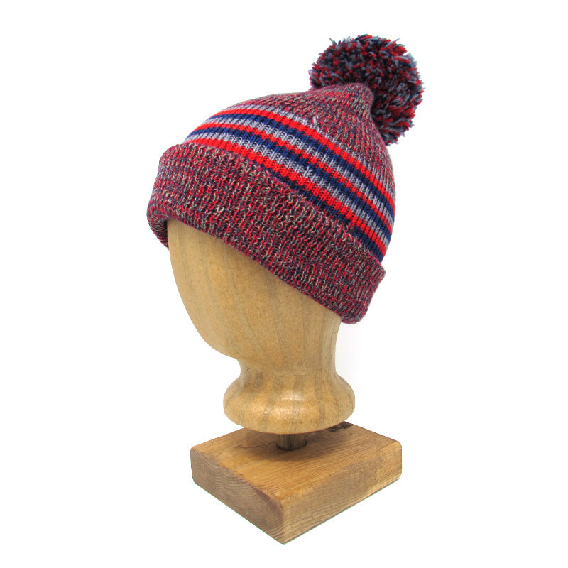Knit Wool Hat, Team Colors