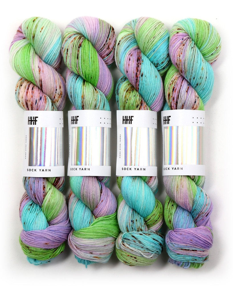 Hard-Wearing Sock Yarn, Wool and Nylon, Superwash Color-Pistachio