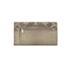 American West Baroque Ladies' Tri-Fold Wallet Back in Sand - Lufli Boutique