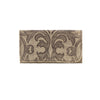 American West Baroque Ladies' Tri-Fold Wallet in Sand - Lufli Boutique