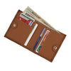 American West Ladies' Bi-Fold Boyfriend Wallet Inside of Wallet in Golden Tan at Lufli.com