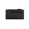 American West Ladies' Folover Wallet, Back of wallet in color Black at Lufli.com
