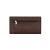 Mohave Canyon Ladies' Tri-Fold Wallet Back of Wallet in Chestnut Brown | Lufli Boutique