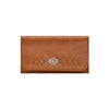 Mohave Canyon Ladies' Tri-Fold Wallet in Golden Tan | Lufli Boutique