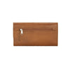 Mohave Canyon Ladies' Tri-Fold Wallet Back of Wallet in Golden Tan | Lufli Boutique